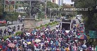 Maestros continúan con manifestación frente al Congreso