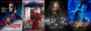 Cartelera de Cines Guatemala del 04 al 11 de enero 2019