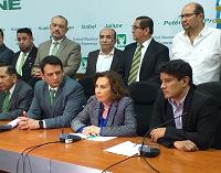 Sandra Torres arremete contra Thelma Aldana en conferencia de prensa