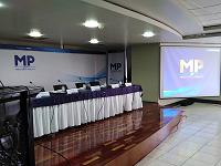 Conferencia de prensa tras allanamientos contra el narcotráfico