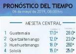 Clima Nacional mayo 06, lunes