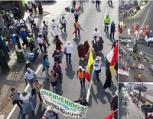 """Actualización: Finaliza marcha """"por la dignidad"""""""