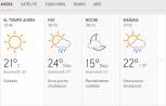 Clima Nacional diciembre 30, lunes