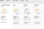 Clima Nacional enero 03, viernes
