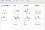 Clima Nacional enero 06, lunes