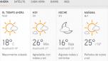 Clima Nacional enero 07, martes