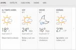 Clima Nacional enero 08, miércoles