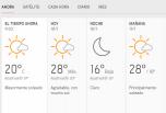 Clima Nacional enero 10, viernes