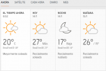 Clima Nacional enero 14, martes