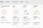 Clima Nacional enero 15, miércoles
