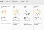 Clima Nacional enero 20, lunes