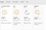 Clima Nacional enero 27, lunes