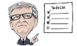 Estas son las cuatro cosas que Bill Gates recomienda hacer para ser feliz