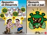 Caricaturas Nacionales Abril 05, Lunes