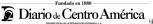 Sumario Diario De Centro América Agosto 09, Lunes
