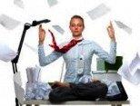 Yoga urbano para la oficina
