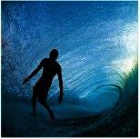 Este valiente hombre se sumerge en olas más grandes del mundo