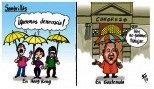Caricaturas Nacionales Octubre 17, Viernes